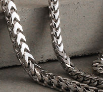 Sterling Silver Franco Chain Necklaces