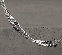 Sterling Silver Singapore Chain Necklaces